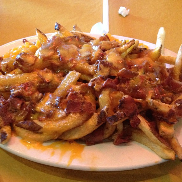 Bacon Cheese Fries @ Grill-A-Burger Palm Desert