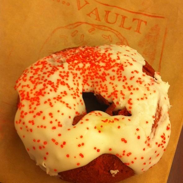 Red Velvet Cake Donut @ Doughnut Vault