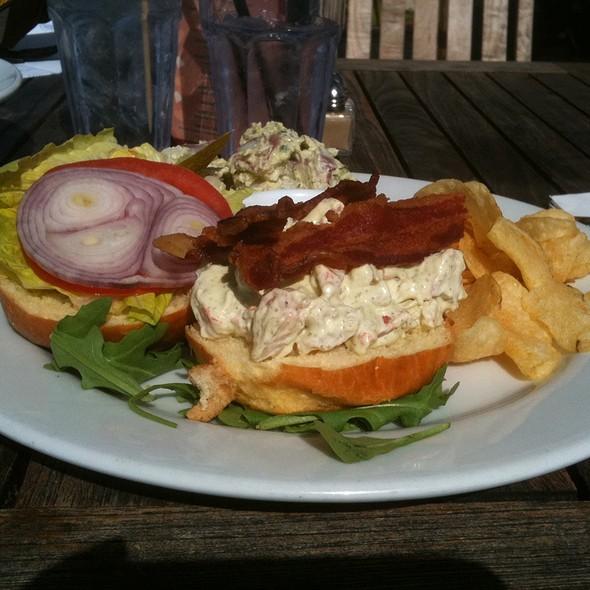 Shrimp Sandwich @ Rooftop Lounge