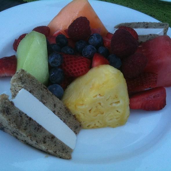 Fresh Fruit Plate @ Hilton Waterfront Beach Resort
