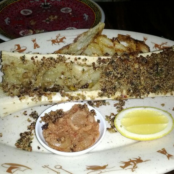 Stuffed Bone Marrow @ Fatty Cue