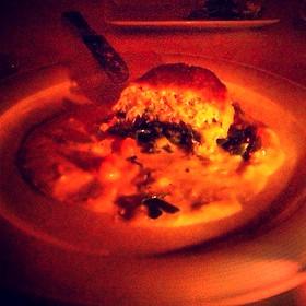 Peeky Toe Crab Cake - Café Absinthe, Chicago, IL