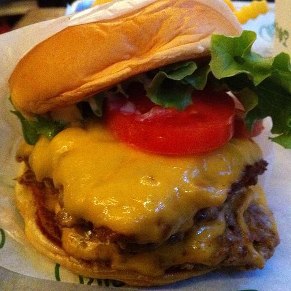 Double Shack Burger @ Shake Shack