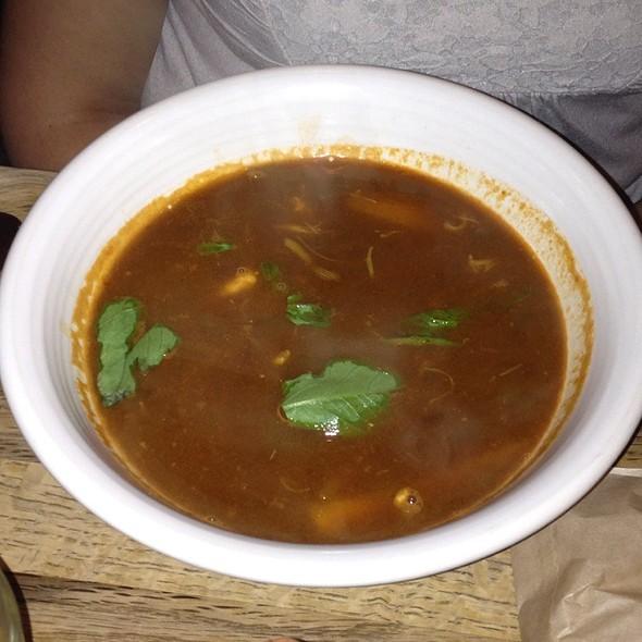 Crab And Fish Soup @ Nopalito