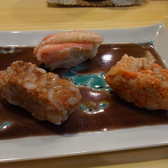 Kani Nigiri @ Taheisushi(太平寿し)