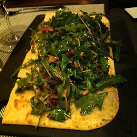 Proscuitto And Arugula Pizza - Vertical Wine Bistro