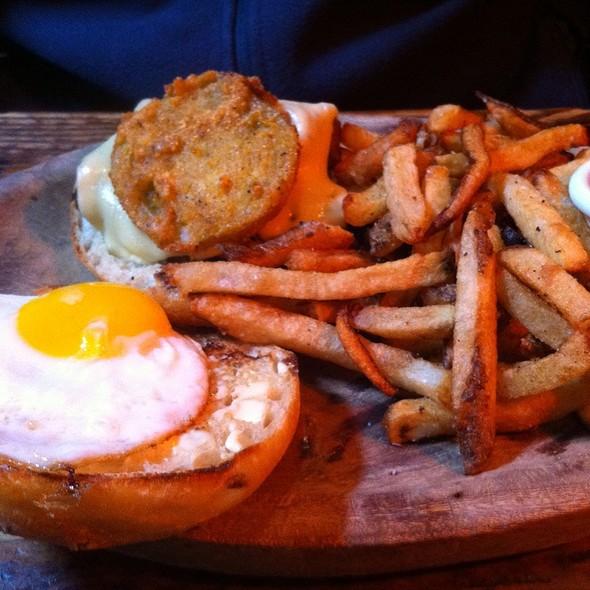 Brisket & Fried Egg Sandwich @ Smith