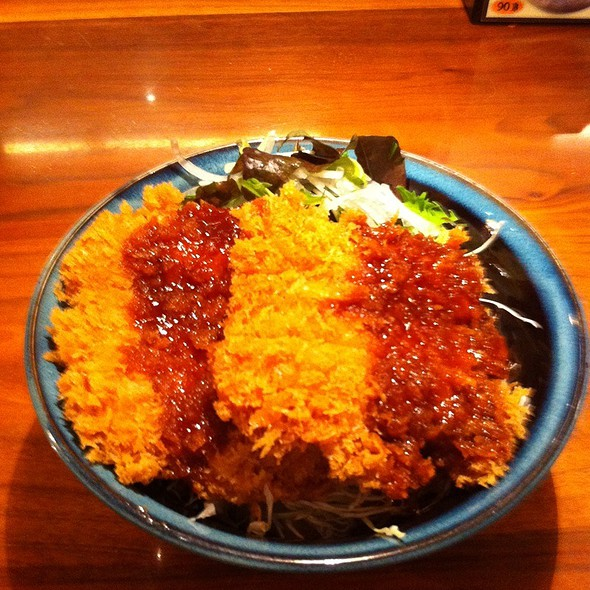 Fried Breadcrmb Chicken With Rice @ Ootoya