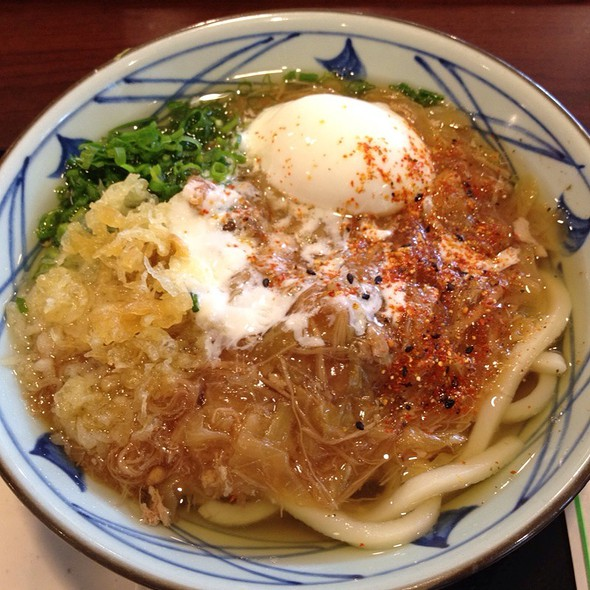 Ontama Udon @ Marukame Udon