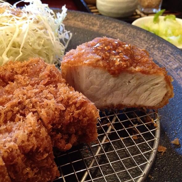 Kurobata Tonkatsu @ Tonkatsu Ginza Bairin