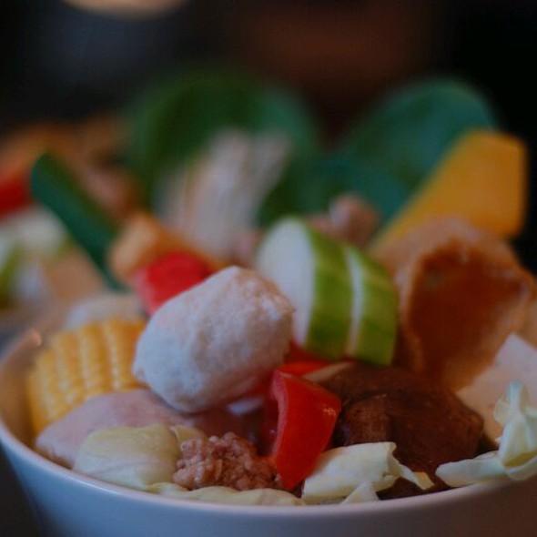 Vegetables And Hot Pot Materials