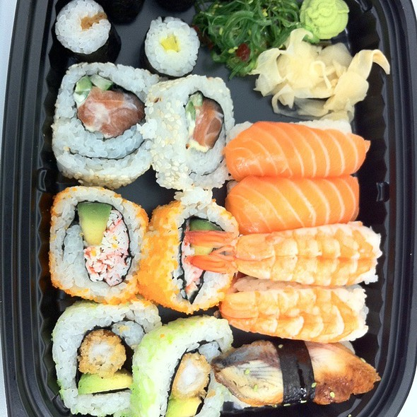 Mixed Sushi Take Out Platter @ Sako