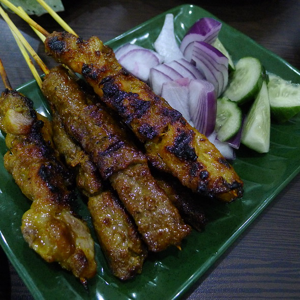 Satay Chicken and Beef Skewers @ Albee's Kitchen