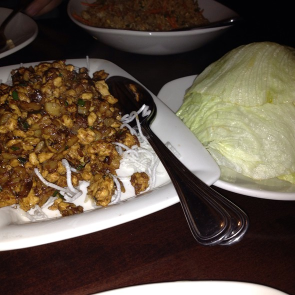 Chang's Chicken Lettuce Wraps @ Pf Chang's