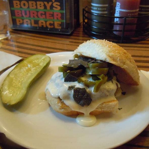 Santa Fe Burger @ Bobby's Burger Palace