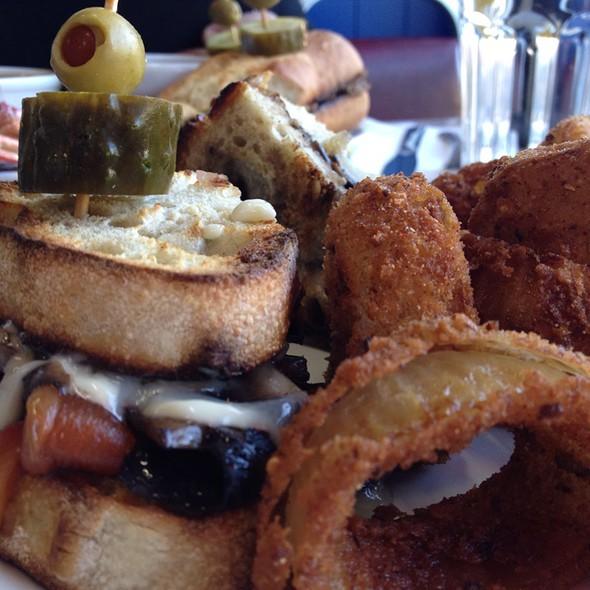 Italian Portobello Sandwich @ Park Cafe