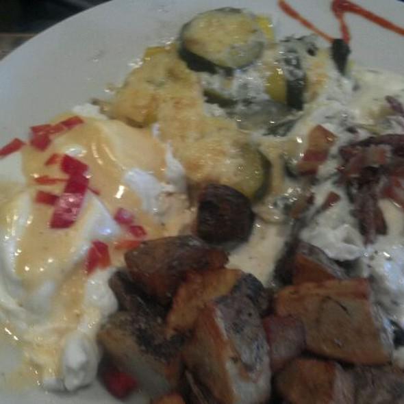 Crispy Rockfish With Bacon Hollandaise - LuLu's, Richmond, VA