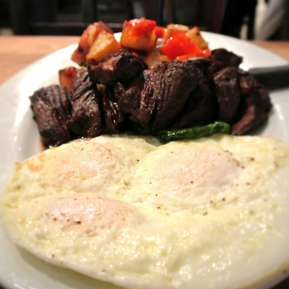 Steak & Eggs @ Green Eggs Cafe