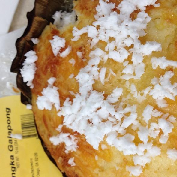 Bibingka Galapong @ Goldilock's Bakery & Restaurant