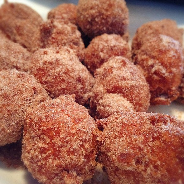Cinnamon Fritters  @ The Peasant's Courtyard