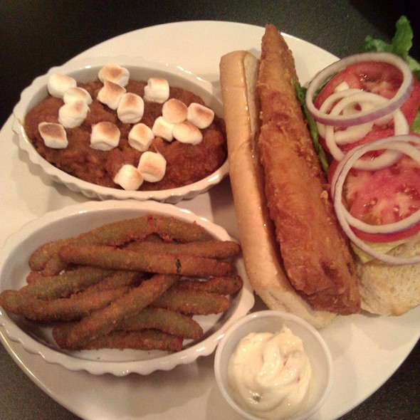 Deep fried cod @ Tippecanoe Place