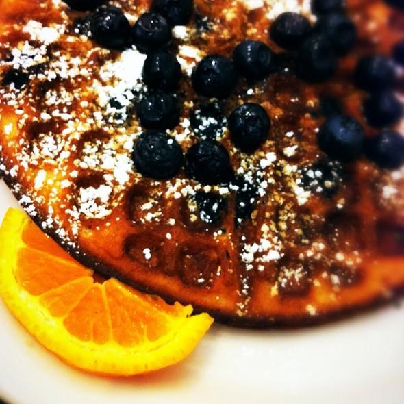Fruit Waffle (Blueberry) @ Cafe Golo