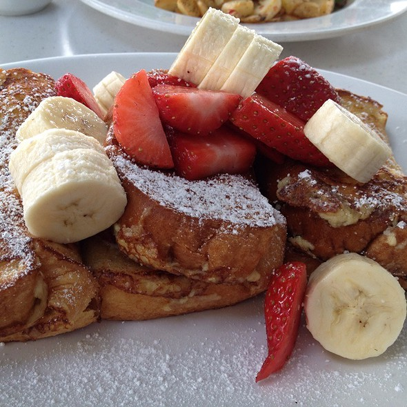 Stuffed French Toast @ Cottage The