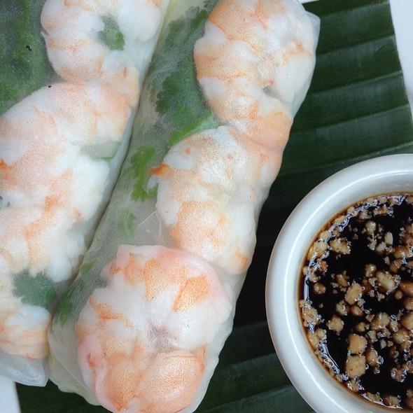 Rollos Vietnamitas @ Tai Spice
