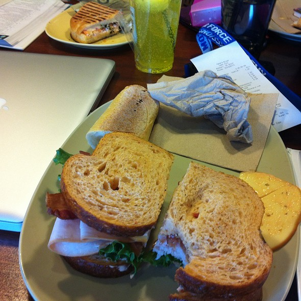 Bacon Turkey Bravo @ Panera Bread