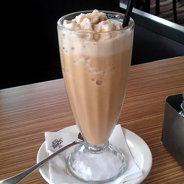 Latte Frappe @ The Coffee Club