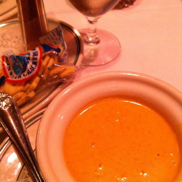 Lobster Bisque - Red Tracton's, Solana Beach, CA