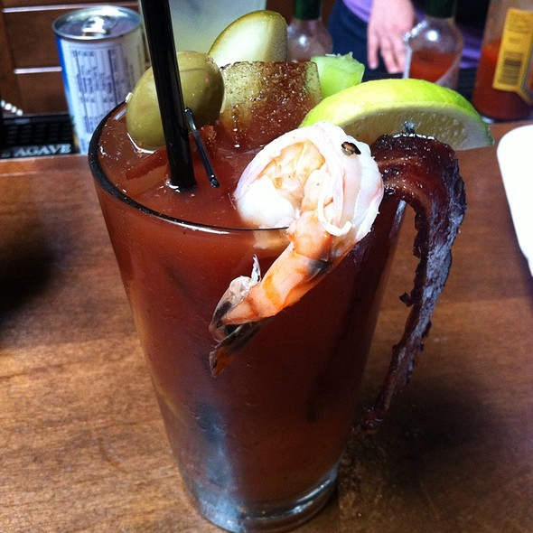 Vesna's Shrimp & Bacon Bloody Mary