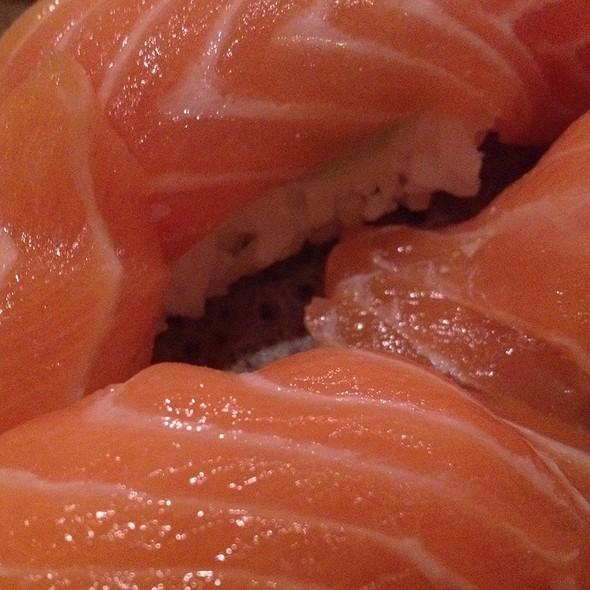 Sake Salmon Sushi @ Hiro's Japanese Restaurant