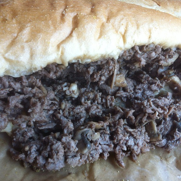Steak and Mushroom Sandwich @ D' Angelo Grilled Sandwiches