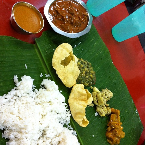 Mutton Banana Leaf Set