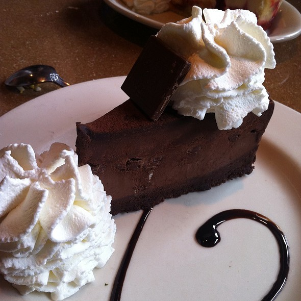 Godiva Chocolate Cheesecake @ Cheesecake Factory