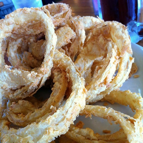 Onion Rings @ Good Time Charlie's Bar & Cafe