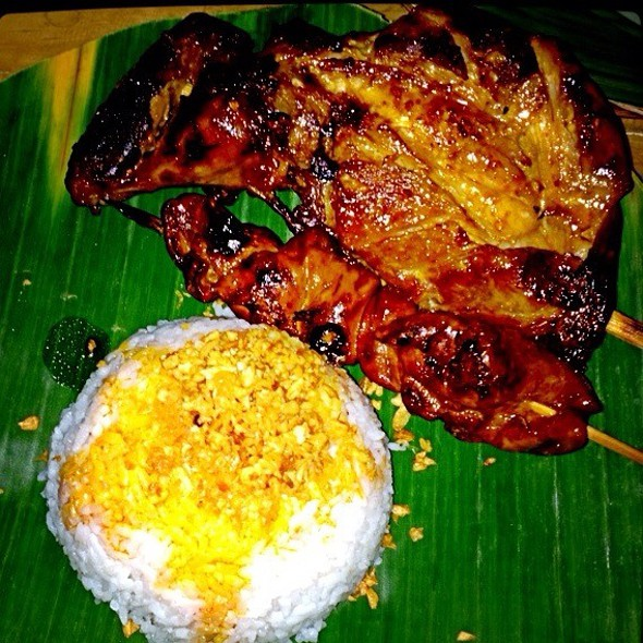 Chicken Inasal & Liver @ JT's Manukan Grille