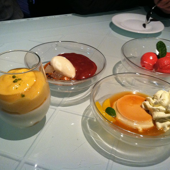 Assorted Petit Desserts @ The Bazaar by Jose Andres