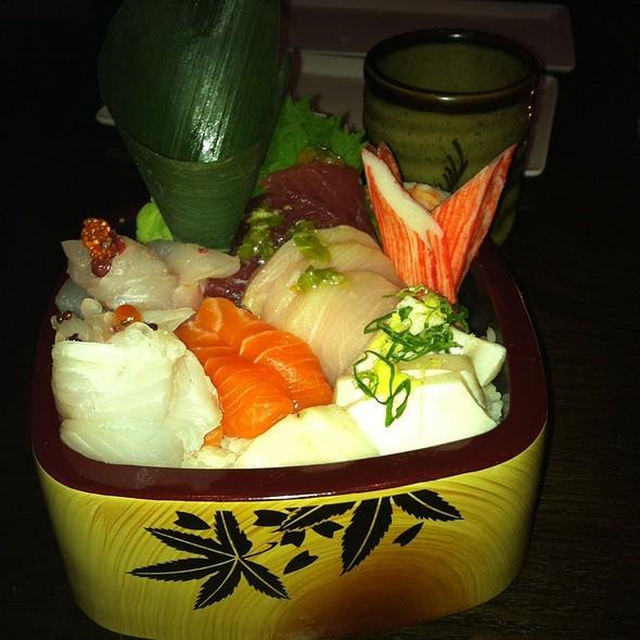 Chirashi Sushi @ Kochi Japan - Fusion Japanese Sushi And Hibachi