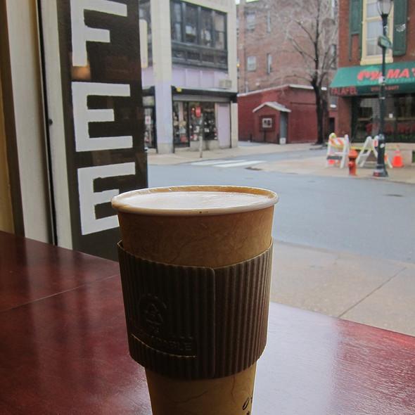 Cafe Latte @ Nook Bakery & Coffee Bar
