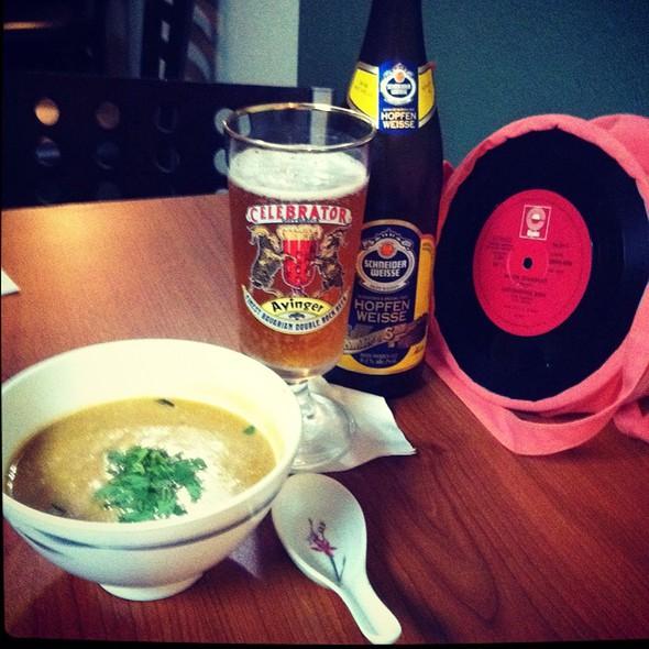 Sweet Potato Coco Soup @ One Ten Thay