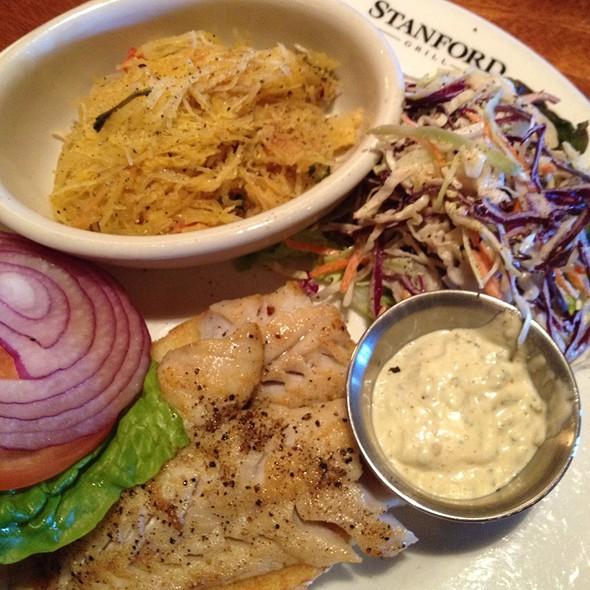 Rockfish Sandwich @ Stanford Grill