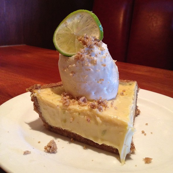 Key Lime Pie @ Stanford Grill