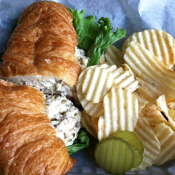 Homemade Chicken Salad Croissant