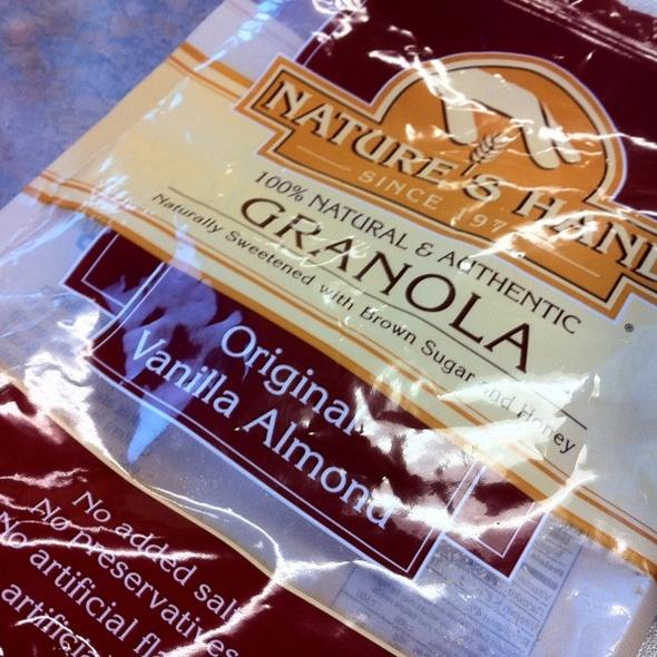 Original Vanilla Almond Granola @ Alice.com