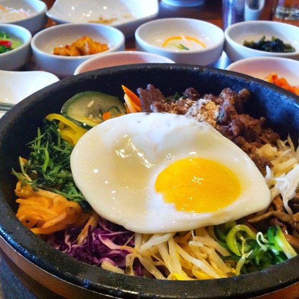 Sizzling Bebimbop @ Bowl'd Korean Rice Bar