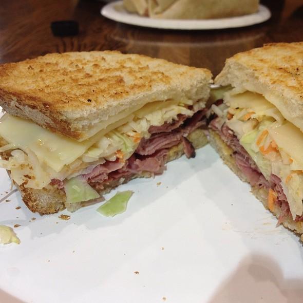 Pastrami Reuben @ Cafe Vesuvius