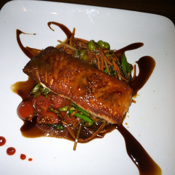 Miso Honey Soy Salmon @ 86 West Restaurant & Bar