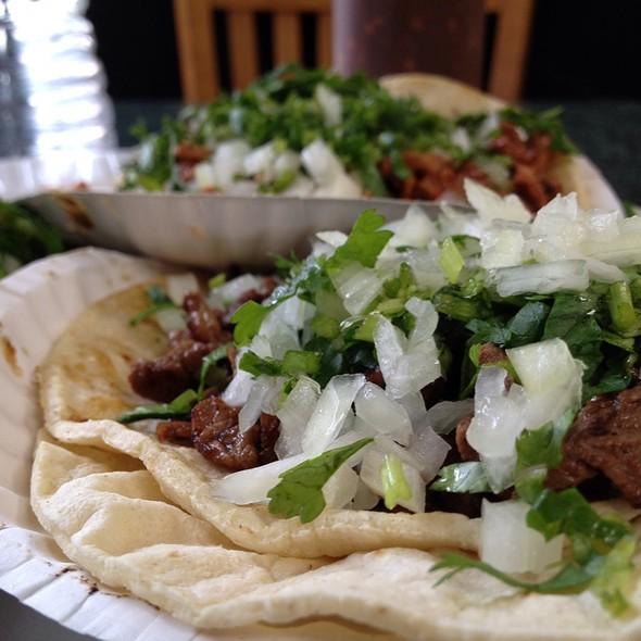Carne Asada Tacos @ La Spiguita Taqueria